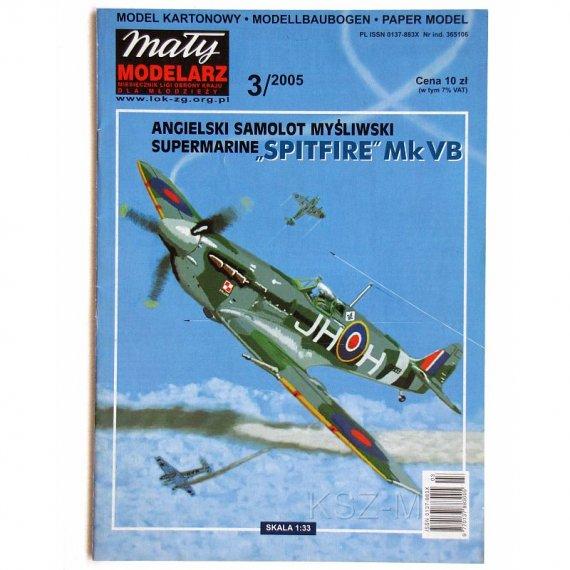 Mały Modelarz 3/05 - Spitfire Mk Vb