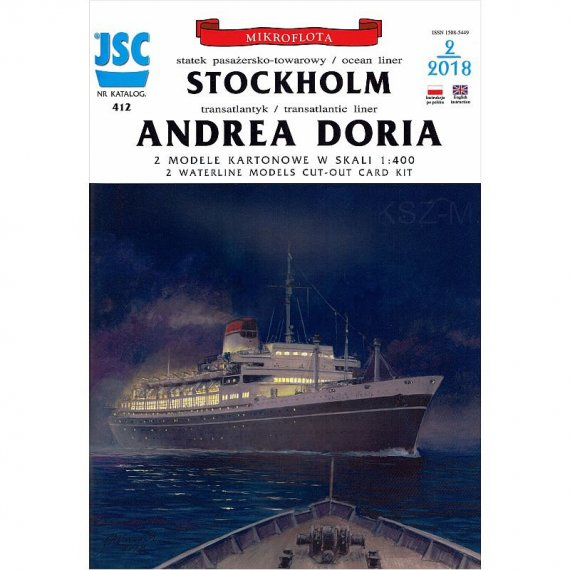 JSC-412 - Statki Andrea Doria i Stockholm