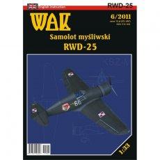 WAK 6/11 - Myśliwiec RWD-25