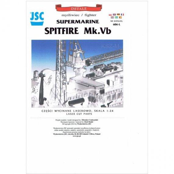 Laser do JSC-606 Samolot SPITFIRE Mk Vb