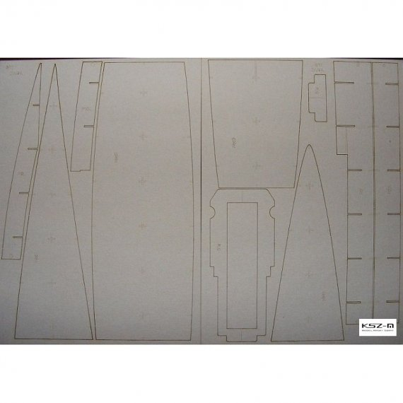 Laser do WAK 1/10 - Krążownik ZARA