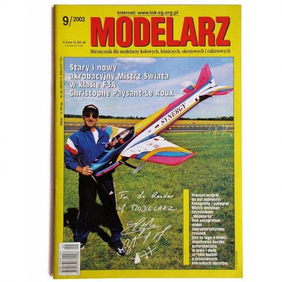 Modelarz 9/2003 - SMS Elisabeth, parowóz TKr 55