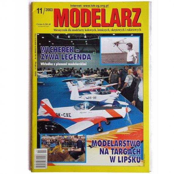 Modelarz 11/2003 - PC-553, Wicherek, Krab, Szebeka