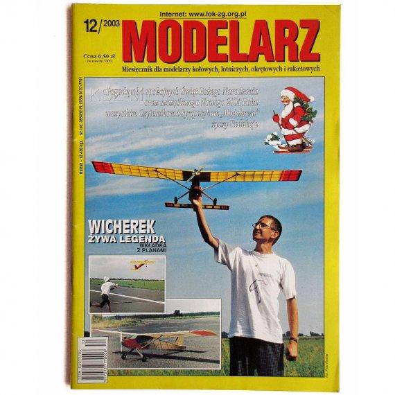 Modelarz 12/2003 - PC-553, Wicherek, Krab, Szebeka