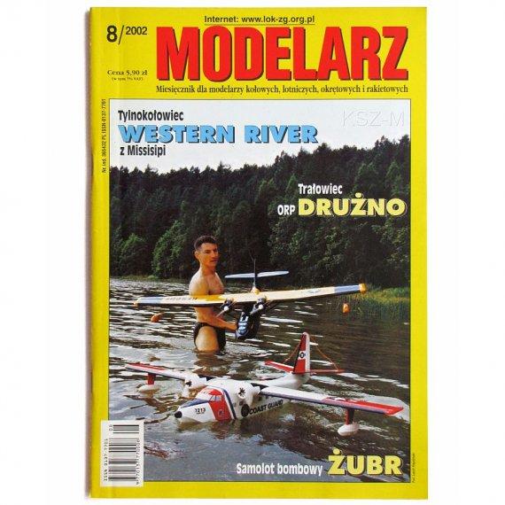 Modelarz 8/2002 - ORP Drużno, Western River, Żubr