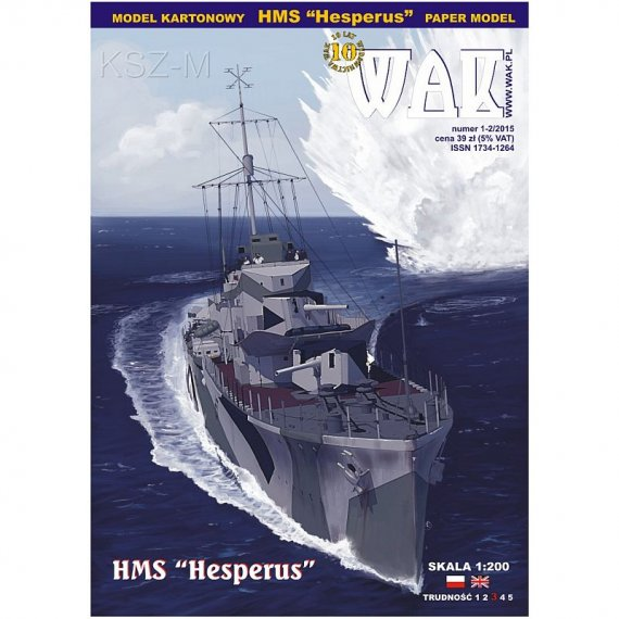 WAK 1-2/15 - HMS Hesperus