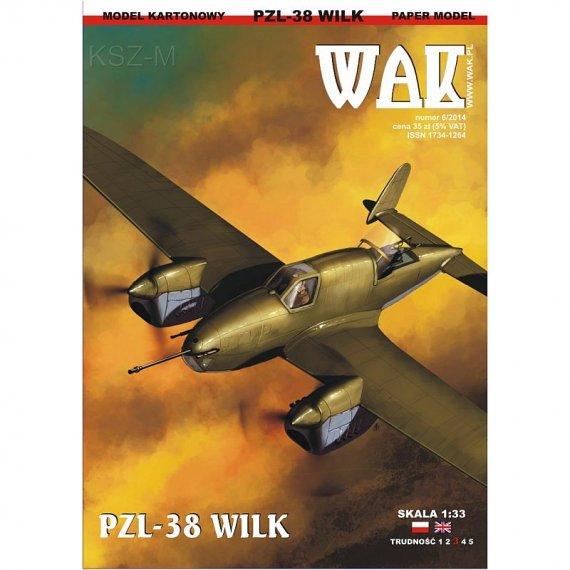 WAK 6/14 Samolot PZL-38 Wilk