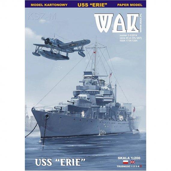 WAK 2-3/14 - Kanonierka USS Erie