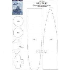 Laser do  USS Erie - WAK 2-3/14