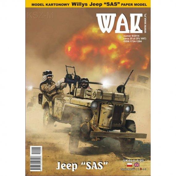 WAK 9/14 - Willys MB Jeep SAS