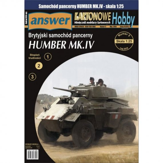 Answer 2/18 Samochód pancerny Humber Mk. IV