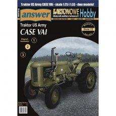 Answer 6/18 - Traktor Case VAI - dwa modele