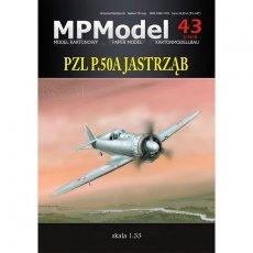 MPModel 43 - PZL P.50A Jastrząb