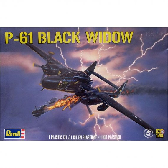 MONOGRAM 85-7546 - P-61 Black Widow