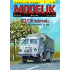 Modelik 12/09 - STAR 20 ciężarówka