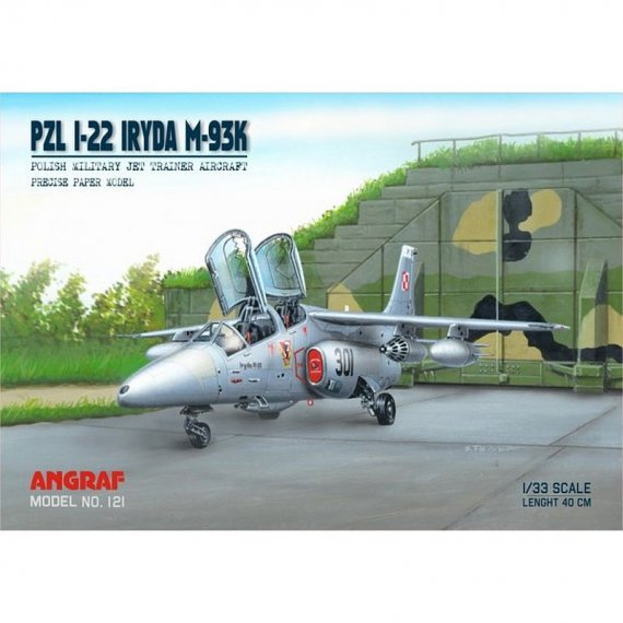 Angraf 121 - Samolot PZL I-22 Iryda M93K