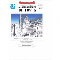 Laser do JSC-601 Samolot myśliwski Bf-109