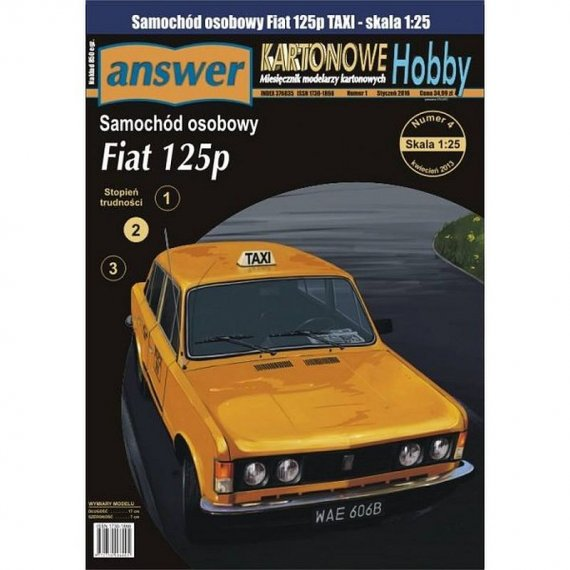 Answer 2/16 - Fiat 125p TAXI