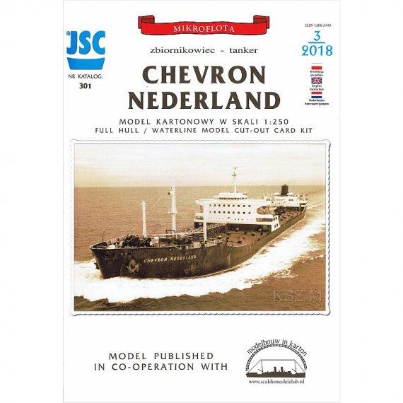 JSC-301 - Zbiornikowiec CHEVRON NEDERLAND