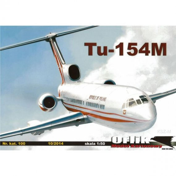 Tupolew Tu-154M (kreda) - Orlik 100