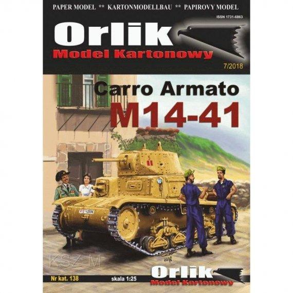 Orlik 138 - Czołg Carro Armato M14-41