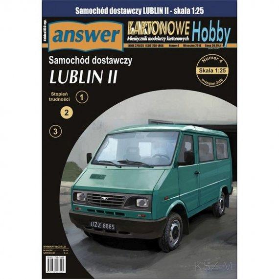 Answer 6/16 - Samochód dostawczy LUBLIN II