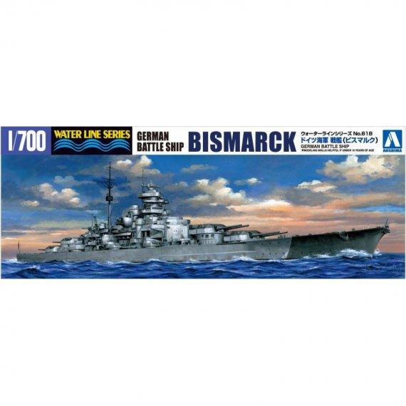 AOSHIMA 618 - Pancernik BISMARCK