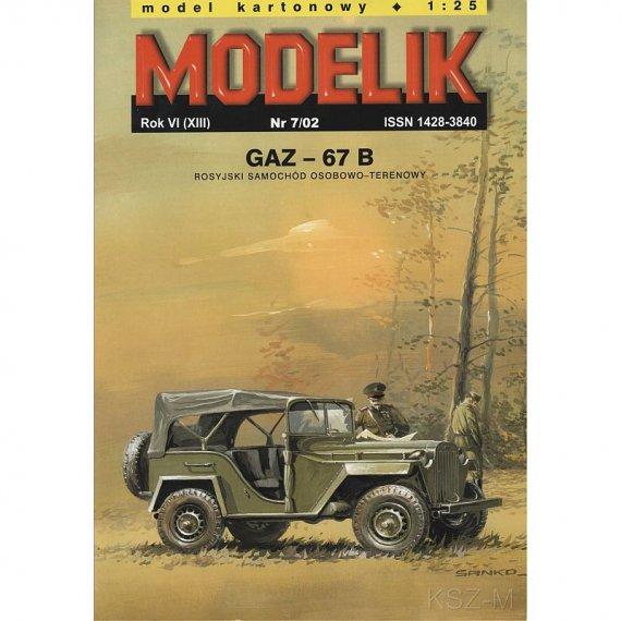 Modelik 7/02 - GAZ-67 B