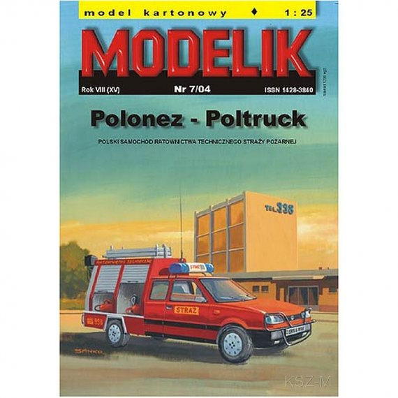 Modelik 7/04 - Polonez - Poltruck