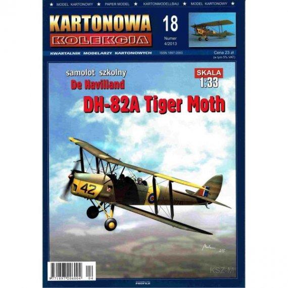 Kartonowa Kolekcja 18 - DH-82A Tiger Moth