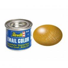 REVELL 32192 - Farba email 92 Brass - Mosiądz