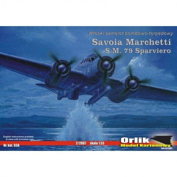 Orlik 038 - Savoia Marchetti SM.79 Sparviero