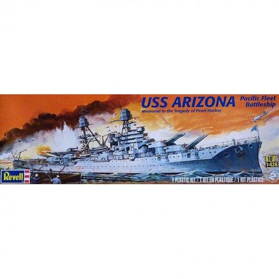 Revell Monogram 0302 - Pancernik USS ARIZONA