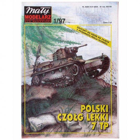 Mały Modelarz 1/97 - Czołg 7 TP