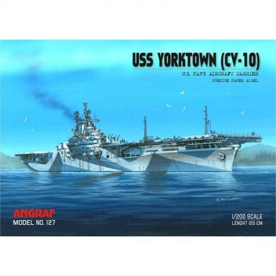 USS YORKTOWN (CV-10) - zestaw