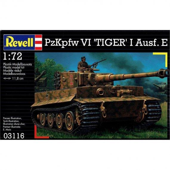 REVELL 03116 - PzKpfw VI Tiger I Ausf. E