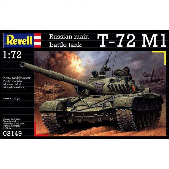 REVELL 03149 - Czołg T-72 M1