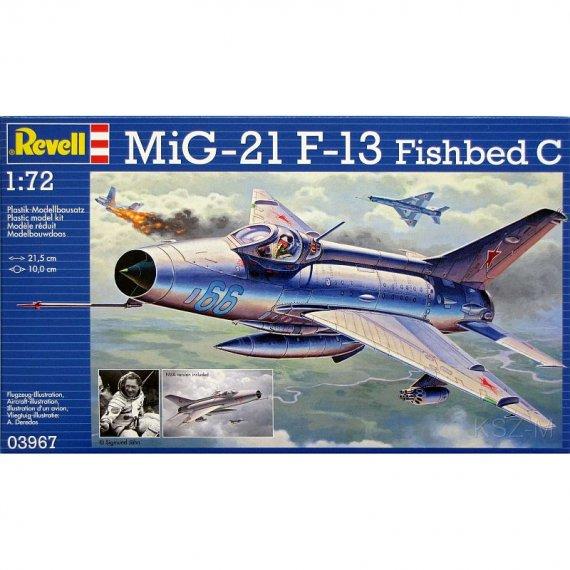 REVELL 03967 - Samolot MiG-21 F-13 Fishbed C