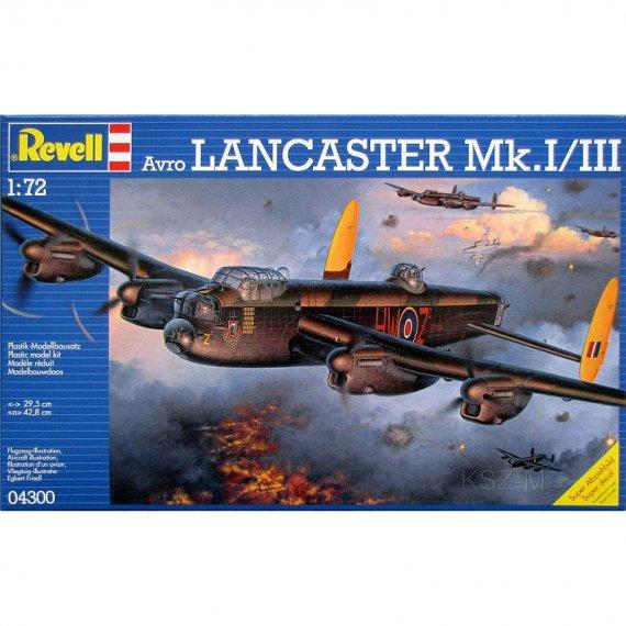 REVELL 04300 - Avro Lancaster Mk.I/III