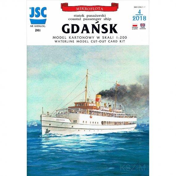 JSC-241 - Statek pasażerski GDAŃSK