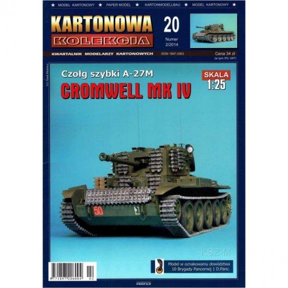 Kartonowa Kolekcja 20 - Czołg Cromwell Mk IV
