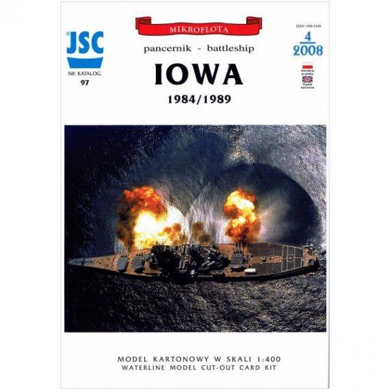 JSC-097 - Amerykanski pancernik IOWA