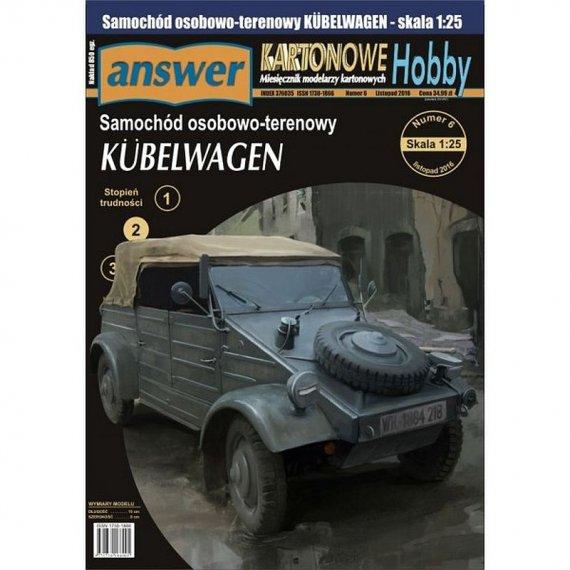 Answer 2/17 - Niemiecki samochód Kubelwagen