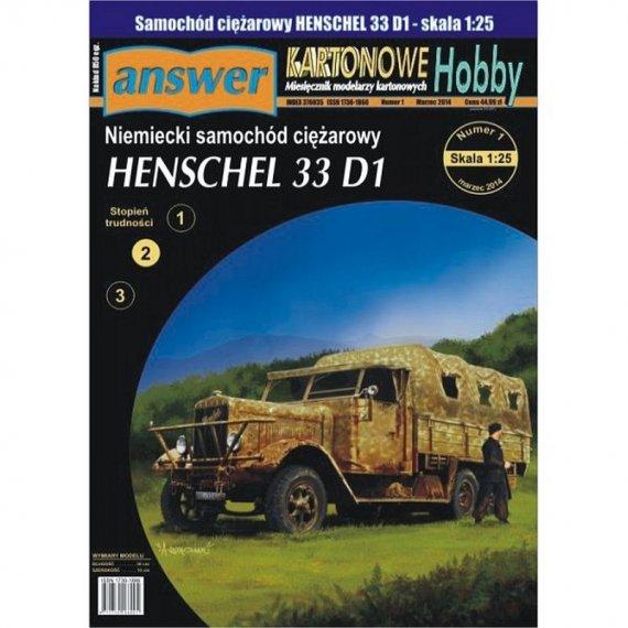 Answer 7/14 - Ciężarówka 33 D1
