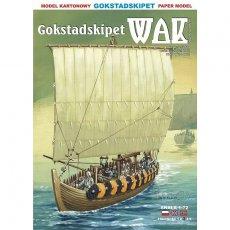 WAK 9/18 - Łódź wikingów z Gokstad z ok 850r