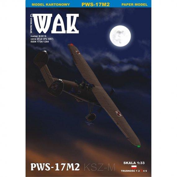 WAK 8/18 - Myśliwiec PWS-17M2