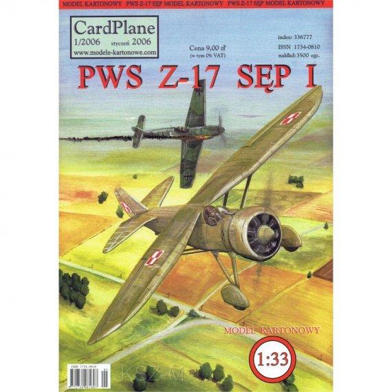 CardPlane 1/2006 - Samolot PWS Z-17 Sęp I