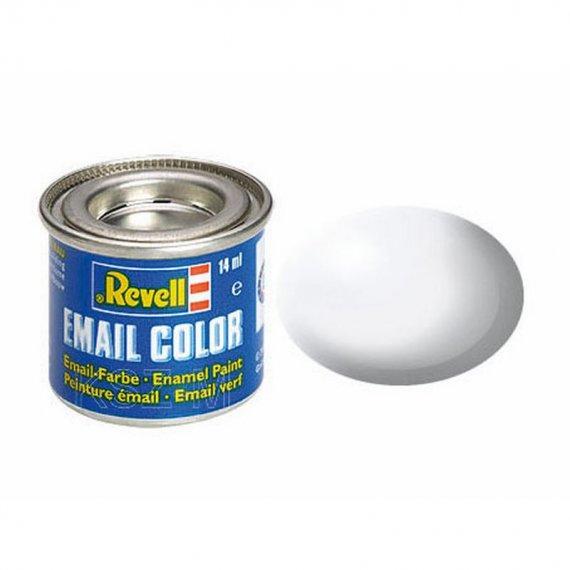 REVELL 32301 - Farba email 301 White - Biały półmatowy