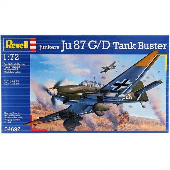 REVELL 04692 - Junkers Ju 87 G/D Tank Buster