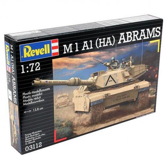 REVELL 03112 - Czołg M1 A1 (HA) ABRAMS